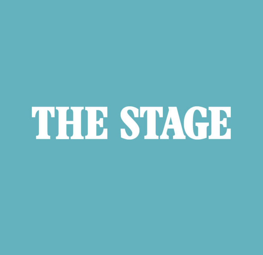 Logo for 'The Stage' magazine